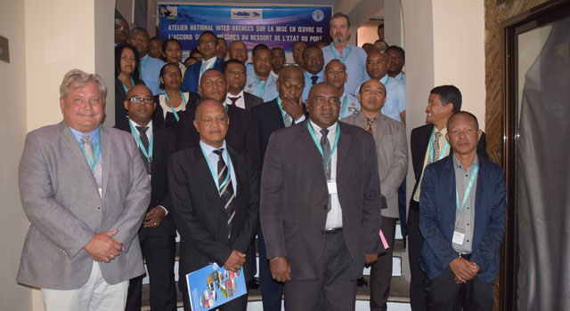 Madagascar develops interagency cooperation for PSMA implementation